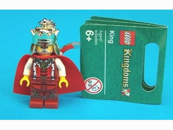 Lego Kingdoms King Key Chain