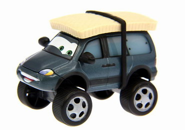 Disney Cars Toon Mater - Leroy Traffik Tires