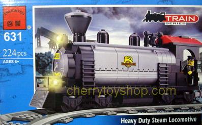 ตัวต่อ Enlighten 631 Heavy Duty Stream Locomotive