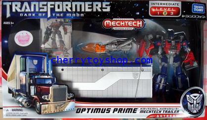 DA-03 Takara Transformers 3 Optimus Prime with mechtech Trailer