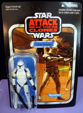Star Wars 2011 Vintage Collection Clone Trooper  vc45