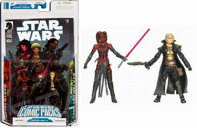 Star Wars Comic Packs:Darth Talon  Cade Skywalker