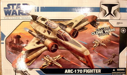 ARC-170 Fighter Exclusive clone wars variant