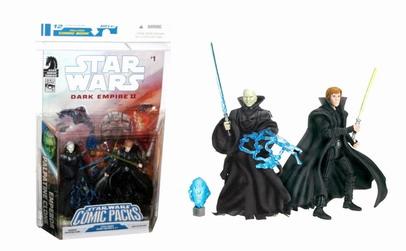 Luke Skywalker  Emperor Palpatine Clone Star Wars Expanded Universe Comic Packs