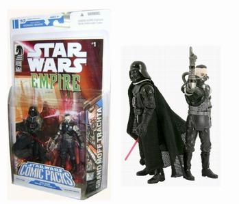 Star Wars Comic packs Darth Vader - Grand Moff Trachta - Empire 1: Betrayal