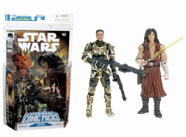 Star Wars Expanded Universe Commander Faie  Quinlan Vos  Comic packs