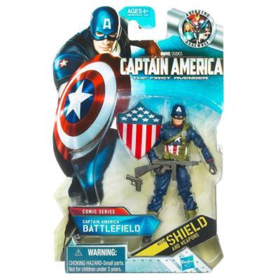 CAPTAIN AMERICA Comic Series: Battlefield CAPTAIN AMERICA