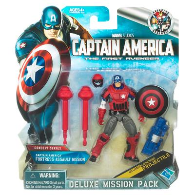 CAPTAIN AMERICA Fortress Assault Mission Deluxe Mission Pack