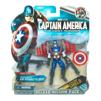 Deluxe Mission Pack  Captain America Air Assault Glider