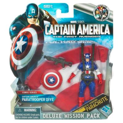 Deluxe Mission Pack Captain America Paratrooper Dive
