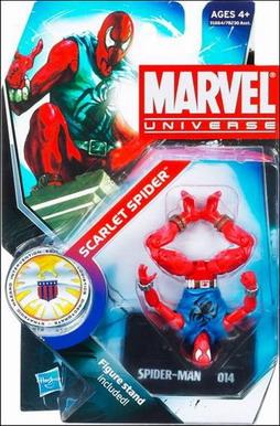 Marvel Universe Scarlet Spider