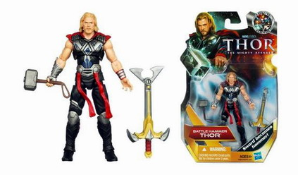 Thor Movie Action Figures: Battle Hammer Thor