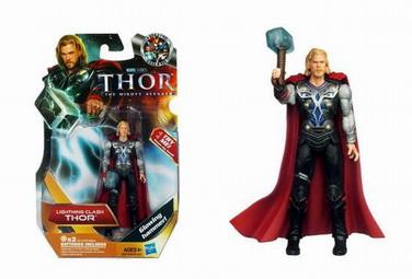 Thor Movie Action Figures: Lightning Clash Thor