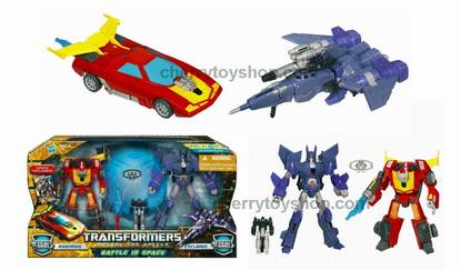 Transformers AA Battle Pack Cyclonus Versus Rodimus