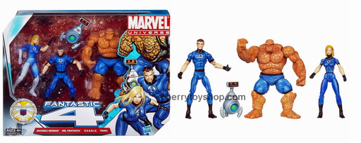 Marvel Universe Super Hero Team Packs Fantastic Four