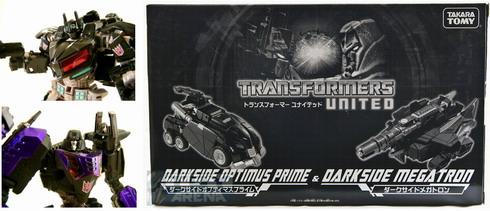 Tokyo Toyshow Exclusive 2011 Darkside Optimus prime and Megatron