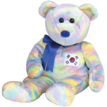 TY Beanie Buddy - COREANA the Bear (Asian-Pacific Exclusive)