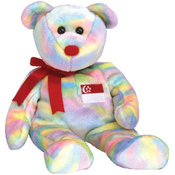 TY Beanie Buddy - SINGABEAR the Bear (Asian-Pacific Exclusive)