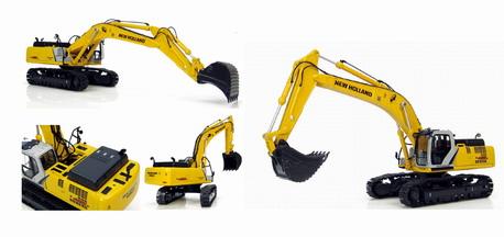 New Holland E485B Backhoe excavator