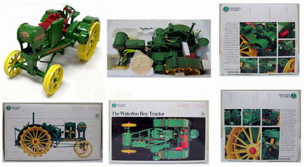 1/16 John Deere Waterloo Boy Tractor, PRECISION Classics 15 - Ertl