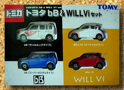 Toyota bB  Will Vi Set