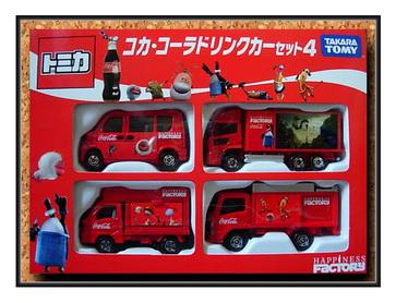 Coca-CoLa Truck Set 4