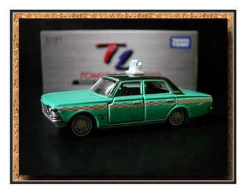 Tomica Limited 121 Toyota Crown MS50 Taxi