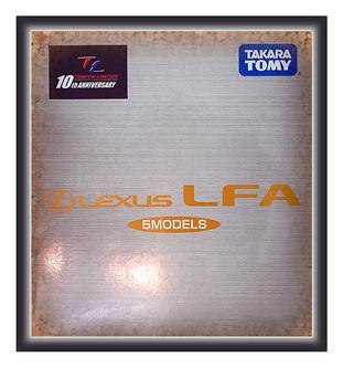 TOMICA LIMITED LEXUS LFA gift set
