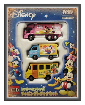 Tomica Disney Mickey Mouse  Friends  Gift Set