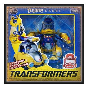 Transformers Disney Label Donald Duck (Color Version)