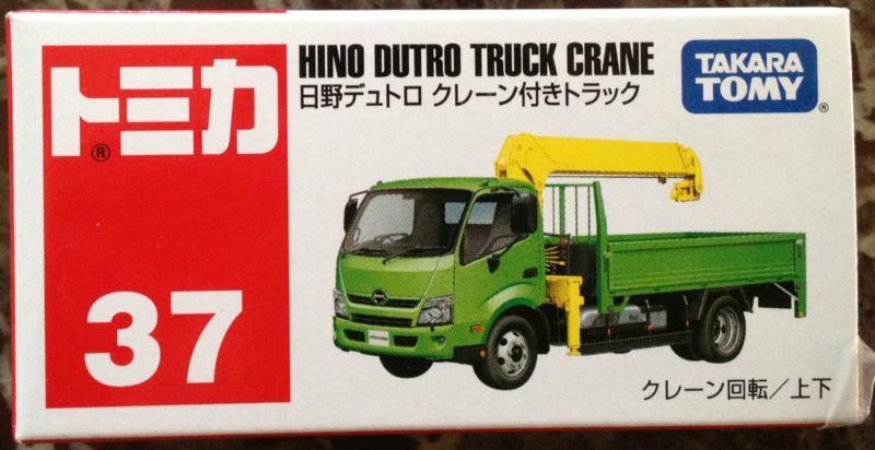 Tomy No37 HINO DUTRO TRUCK CRANE