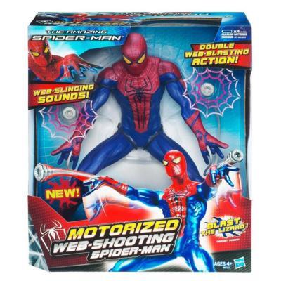 THE AMAZING SPIDER-MAN Motorized WEB-SHOOTING SPIDER-MAN
