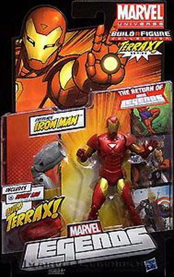 Marvel Legends Terrax Series - Extremis Iron Man