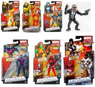 Marvel Universe Legends Wave 4 Hit Monkey Series 6\quot; Figures Set of 6