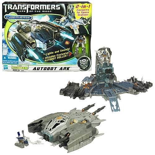 TRANSFORMERS AUTOBOTS CYBERVERSE Action Set AUTOBOT ARK