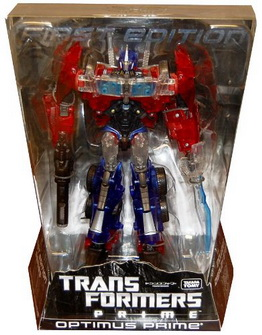 Tokyo Toy Show 2012 Exclusive First Edition Clear Voyager Optimus Prime