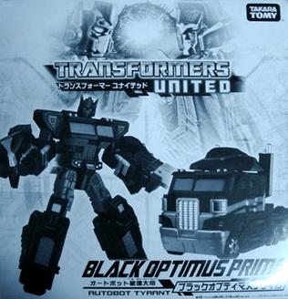 Tokyo Toy Show Transformers United Black Optimus Prime