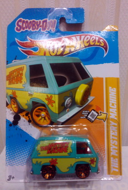 SCOOBY-DOO! THE MYSTERY MACHINE Hot Wheels 2012 New Models