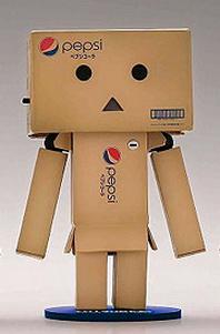 Revoltech Danboard Mini Action Figure - Pepsi Version