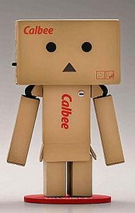 Revoltech Danboard Mini Action Figure - Calbee Version