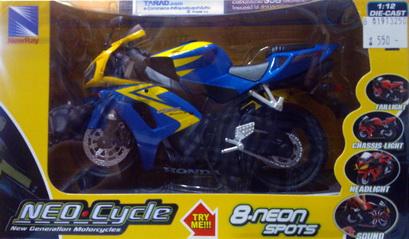 Honda CBR 1000RR  blue