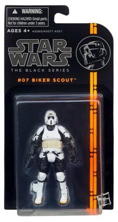 Star wars the black series 07 Biker Scout