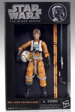 Star Wars The Black Series 6 Inch. Luke Skywalker X-Wing
