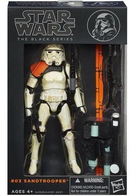 Star Wars The Black Series 6 Inch Sandtrooper