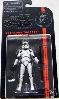 Star wars the black series 02 Clone Trooper Sergeant