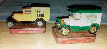 Matchbox Great American Micro Brewery Delivery Truck Collection set 1