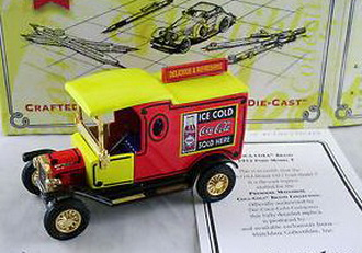 Matchbox 1912 Ford Model T -Coca-Cola