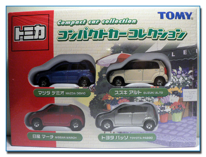 Tomy Compact car Collection box set
