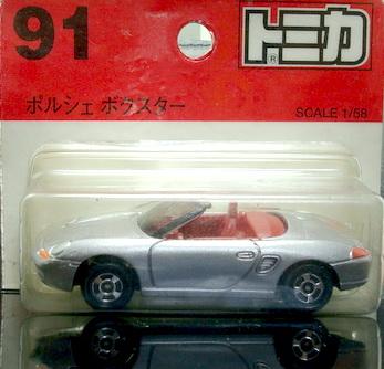 Tomy No91 Porsche Boxter