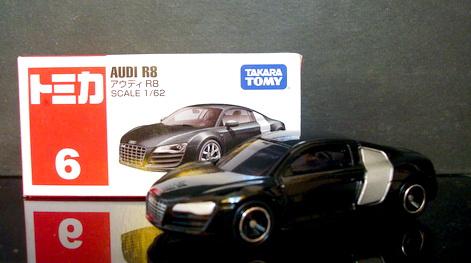 Tomy No6 Audi R8